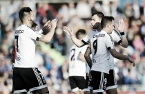 Getafe 2-2 Valencia: Alcácer snatches a point from Getafe late in match