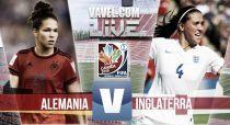 Alemania vs Inglaterra en vivo y en directo online en el Mundial de Canadá 2015 (0-0)