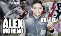 """Entrevista. Álex Moreno: """"Cuando me llamó el Rayo, no lo dudé"""""""