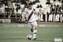 Álex Moreno, mejor jugador del Rayo ante el Oviedo