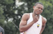 Alex Quiñónez gana oro en 100 metros del Campeonato Sudamericano de Atletismo