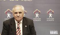 Alfonso García, con la delegación de la selección española de fútbol