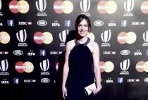 """Alhambra Nievas es premiada como """"Mejor Árbitro del Mundo"""""""
