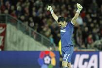 Primer partido que el Granada deja la portería a cero