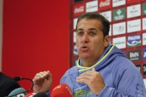 """Sandoval: """"Tenemos que ir con hambre a Málaga"""""""