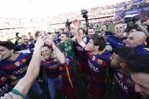 El Barça se corona en Granada