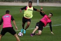 Carcela es seria duda para el partido contra el FC Barcelona