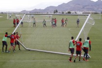 Cuatro entrenamientos para preparar la 'final' contra Las Palmas