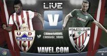Almería vs Athletic de Bilbao en vivo y en directo online