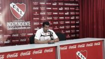 """Almirón: """"Queremos ganar y posicionarnos arriba"""""""