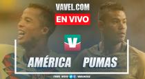 Resumen y goles América 1-1 Pumas en Liga MX Apertura 2019