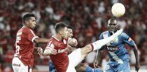 Resultado Emelec vs Internacional de Porto Alegre en Copa Libertadores 2015 (1-1)