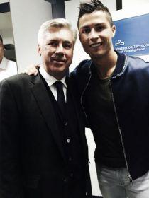 Cristiano Ronaldo volvió a apoyar públicamente a Ancelotti