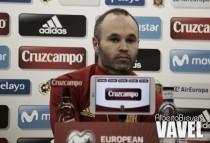 """Andrés Iniesta: """"Estoy feliz por tener buenas sensaciones sobre el campo"""""""