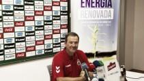 """Ángel Viadero: """"Iremos a por el encuentro desde el primer minuto"""""""