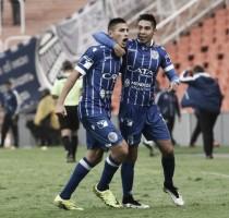 """Fabrizio Angileri: """"Estoy contento por el gol y la victoria"""""""