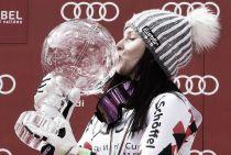 Anna Fenninger si prende gara e Coppa, la Maze si arrende
