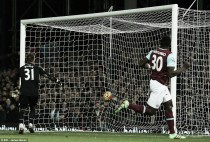 West Ham United 2-0 Aston Villa: Ayew red card the catalyst for capitulation