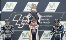 MotoGP, Marquez vince ad Aragon davanti a Lorenzo. Rossi terzo: le parole dei protagonisti