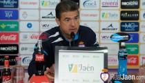 """Gonzalo Arconada: """"El Real Jaén arriba tiene pegada aunque no esté Hugo"""""""