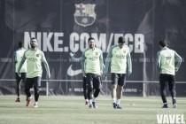 El Barça se recupera pensando en el Calderón