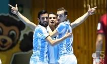 Mondiali futsal Colombia: l'Argentina doma Ricardinho e va in finale