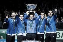 Após quatro vices, Argentina bate Croácia e conquista Copa Davis