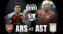 Arsenal - Aston Villa Preview: Villans end horrendous season with trip to the Emirates