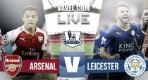 Match Arsenal vs Leicester City Live Score and EPL scores 2016 (0-0)