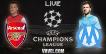 Live Arsenal - Marseille, le match en direct