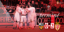 Lorient s'incline à domicile face à Monaco