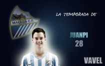Málaga 2014/2015: la temporada de Juan Pablo Añor, 'Juanpi'