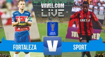 Resultado Fortaleza x Sport na Copa do Nordeste 2016 (2-1)
