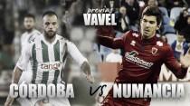 Previa Córdoba CF - CD Numancia: seguir sumando