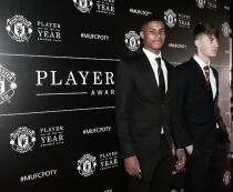 Marcus Rashford awarded Jimmy Murphy under-18s player of the year