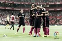 El Barça sufre pero se impone en San Mamés