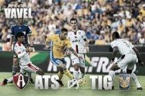 Previa Atlas - Tigres: Por la primera victoria de la temporada