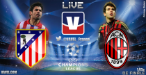 Champions League : Live Atlético Madrid vs AC Milan, le match en direct