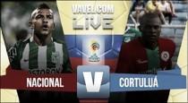 Resultado final: Atlético Nacional vs Cortuluá en la Liga Águila (1-1)