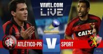 Resultado Atlético-PR x Sport na Série A do Campeonato Brasileiro (2-0)