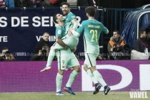El Barça golpea primero