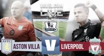 Aston Villa vs Liverpool Live Stream Score Commentary in Premier League 2016