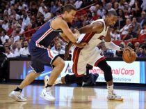 Un descomunal Chris Bosh lidera a los nuevos Heat