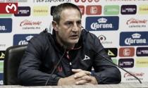 """Pablo Marini: """"Tenemos que lograr la mayor cantidad de puntos en casa"""""""