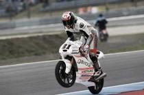 Bagnaia makes history claiming his first Moto3 win at Assen TT