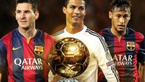 Pallone d'Oro 2015: Messi, Ronaldo e Neymar i finalisti