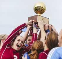 Bangor Rides Goalie And Timely Offense To Soccer State Title