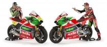 Whole new 2017 line up for the Aprilia Racing Team Gresini