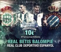 #PatrocinanAlBetis, nueva promoción para el partido ante el Espanyol