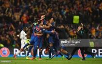 Barcelona (6) 6-1 (5) Paris Saint Germain: Miracle in Catalonia as Barca complete extraordinary comeback